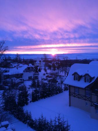 Atrium Hotel: Вид из номера ранним утром