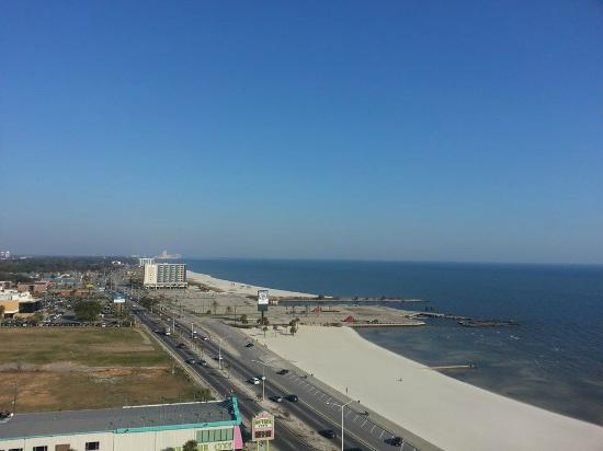 Ocean Club at Biloxi: View from Balcony