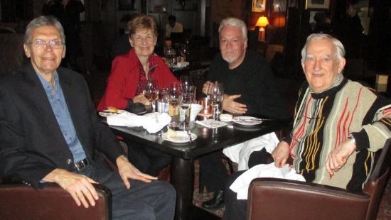 The Consort Bar: Paul, Heidi, Chris and Doug