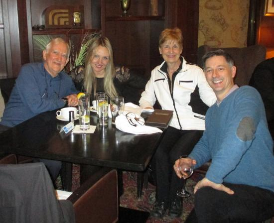The Consort Bar: Doug, Rebecca, Heidi and Chris