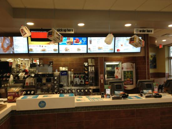 Counter And Menu Picture Of Mcdonald S Havelock