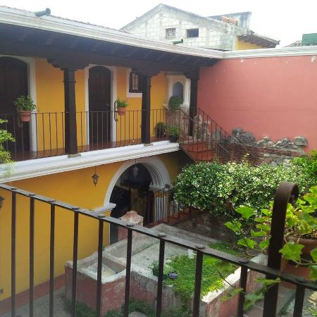 Hotel Posada San Pedro: The courtyard