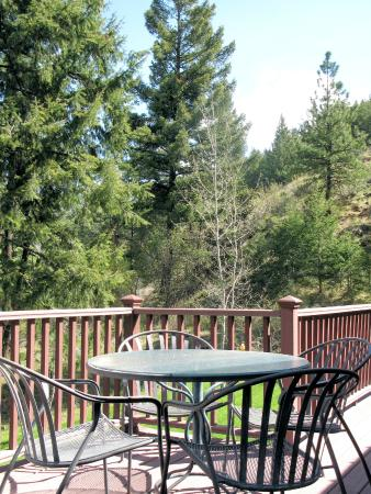 Bethel Ridge Retreat: Great views from the large deck