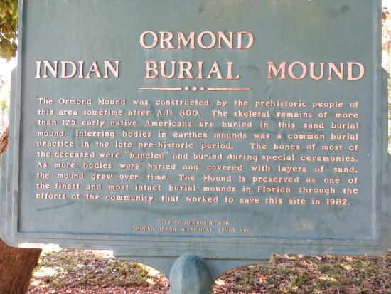 ‪Ormond Burial Mound‬