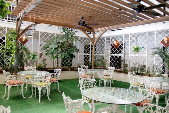 México Inn Hotel & Residence: Terraza