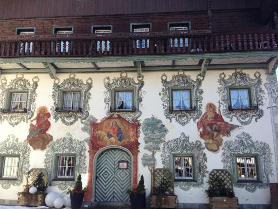 Hotel Walchseer Hof : the front of the hotel