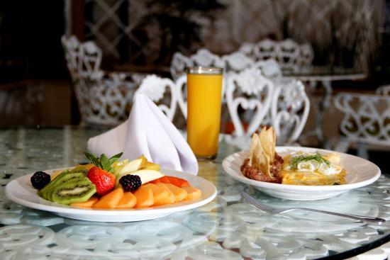 México Inn Hotel & Residence: Desayuno