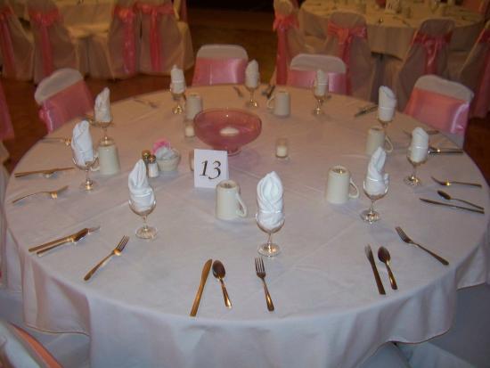 Corsiu0027s Restaurant u0026 Banquet Halls Banquet Table Setting...one ex&le & Banquet Table Setting...one example - Picture of Corsiu0027s Restaurant ...