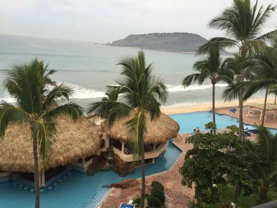 The Palms Resort Of Mazatlan: View from balcony