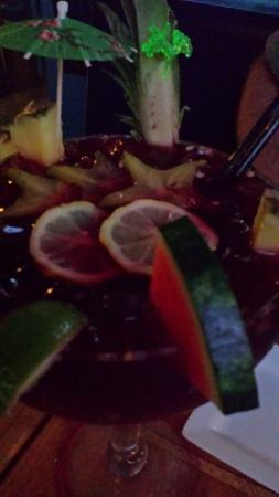 Raglan's Bistro: red sangria made in house
