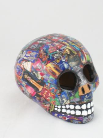 Mexidona: skull day of the dead