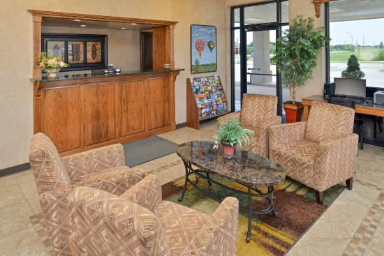 Americas Best Value Inn- Ardmore: Lobby