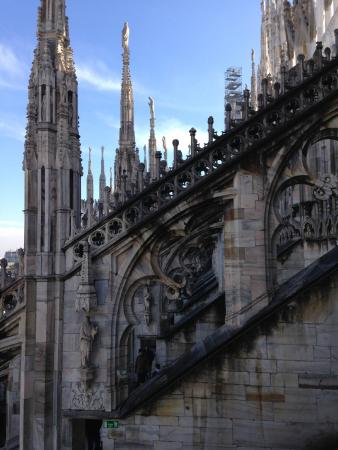 Terrazza del duomo madonnina - Picture of Duomo Rooftops, Milan ...