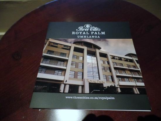 Royal Palm Hotel: Hotel Information