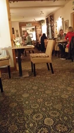 The Castle Inn: Décor not delighting