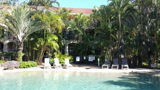 Sanctuary Lake Apartments: Pool area