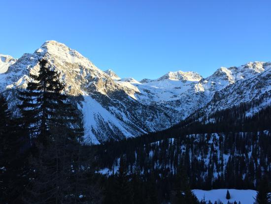 Blatter's Bellavista Hotel: Wunderbarer Bergblick
