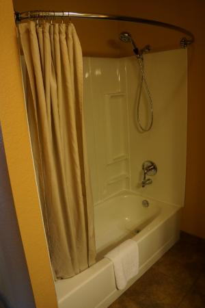 Americas Best Value Inn - Executive Suite Airport: Guest Bathroom