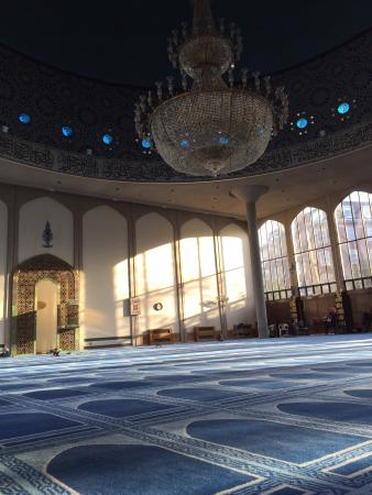 London Central Mosque: Inside