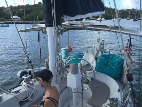 Alaunt Charters day sails: On board a Gallant 53