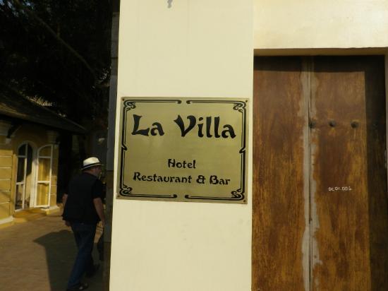 La Villa Battambang: Entrée