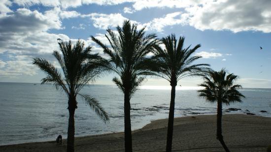 Hotel & Spa Benalmadena Palace: Benalmadena beach