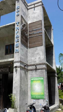 See Through Resort Haad Yao : Rezeptionsgebäude