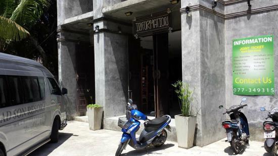 See Through Resort Haad Yao : Eingangsbereich