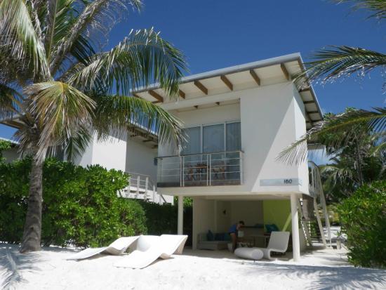 Kandooma Resort Maldives Map Of Beach House