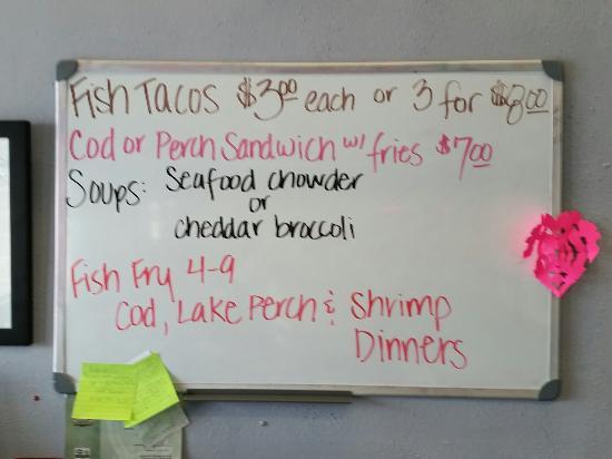 Fall River, WI: Fish Tacos