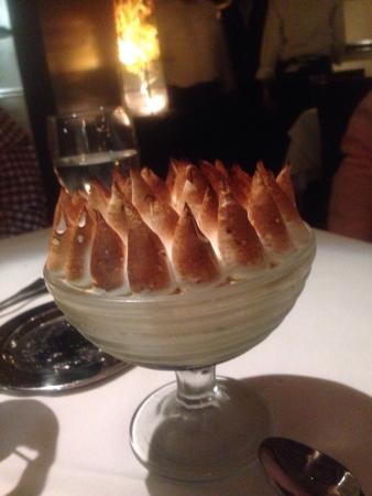 Can't remember the name, but this dessert would melt in your mouth! Th Italian meringue was like