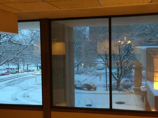 Denver Marriott Tech Center: It snows in Denver