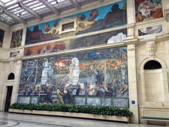 The detroit institute of arts detroit michigan picture for Diego rivera mural detroit institute of arts