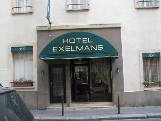 Hotel Exelmans : entrance