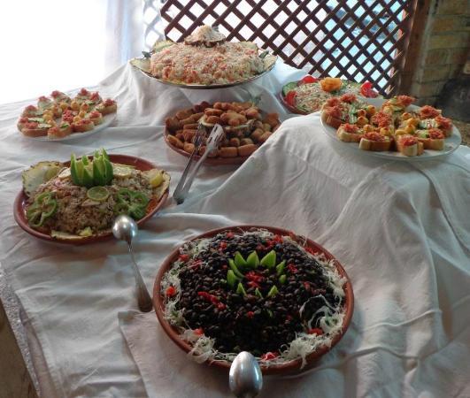 Santa Cruz del Norte, Cuba: Nice spread