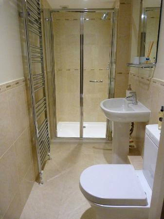Manorbier Bed and Breakfast: Twin room sole use private shower room not en suite but very close to the twin room