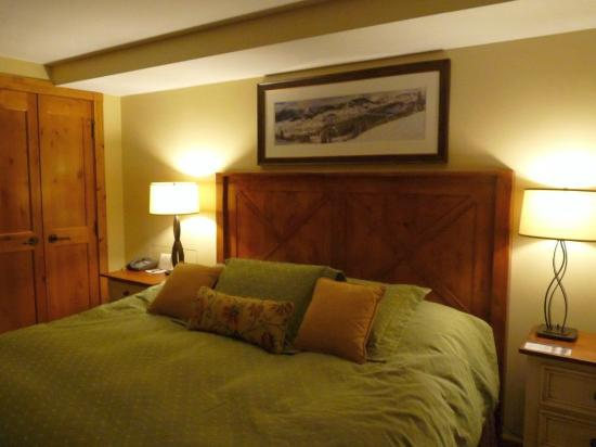 Lodge at Mountaineer Square: Schlafzimmer