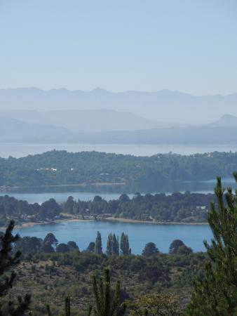 Villa Pehuenia, Argentina: Mirador de los Lagos