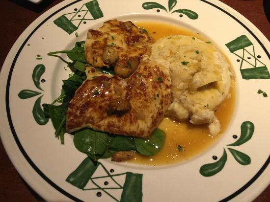 Garlic Rosemary Chicken Picture Of Olive Garden Fairfax Tripadvisor
