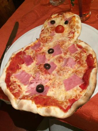 Chez Christine: Pizza du menu enfant