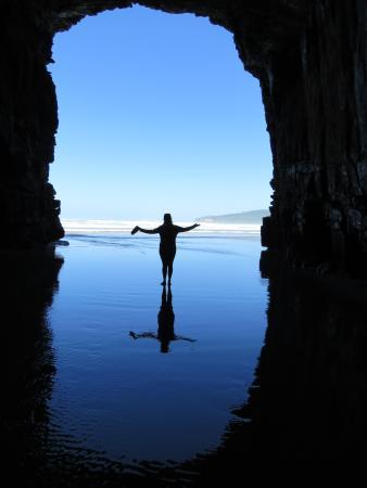 Southland Region, Nouvelle-Zélande : Cathedral caves