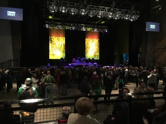 before an indoor show picture of stage ae pittsburgh tripadvisor