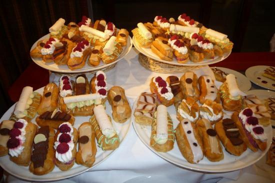 Les Arcs, France: desserts
