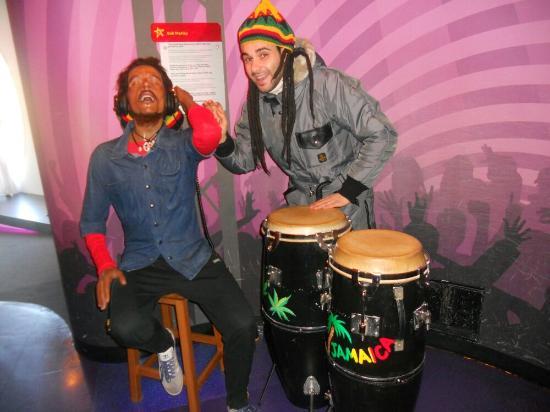 Museo Delle Cere Amsterdam.Museo Delle Cere Bob Marley Foto Van Madame Tussauds