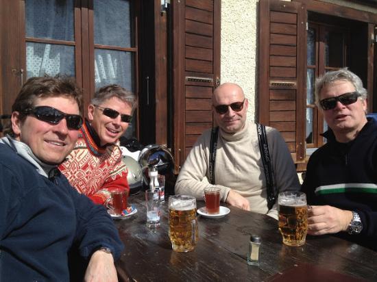 Berghaus Gruensee: Sun and ski lovers at Gruensee