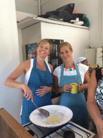 Chiles&Chocolate Cooking Classes : Great morning learning and cooking with Jane!