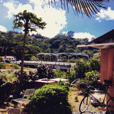 Hostal Suenos Del Rio: The terrace