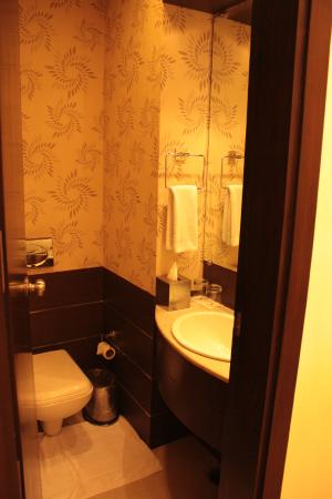 Hotel Jivitesh : Bathroom in regular room