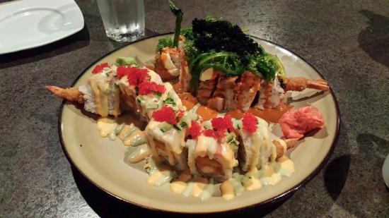 Matsu Ya: Loch Ness Roll and something yummy