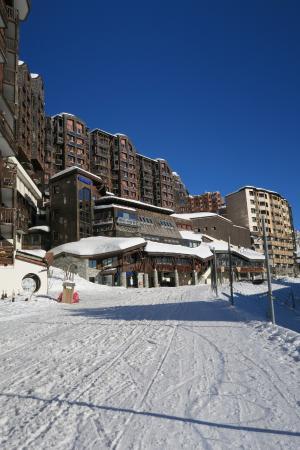 Club Med Avoriaz: entrée principale